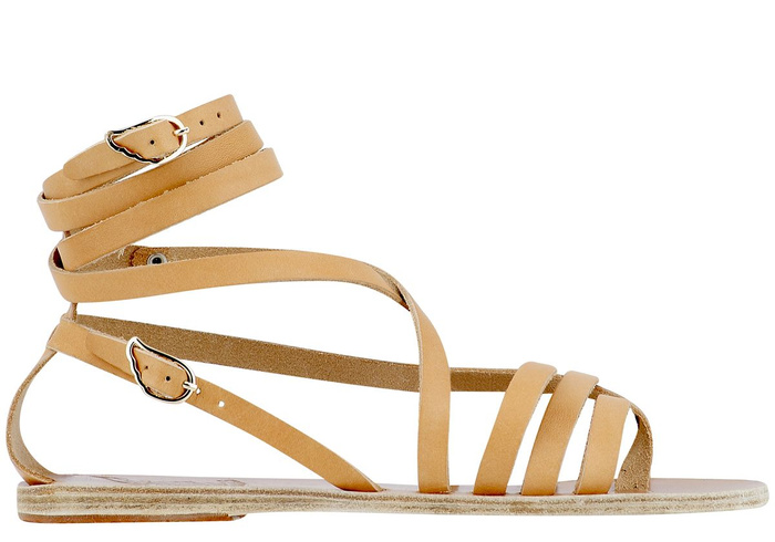 6f2efa01e443d Buy Satira Leather Sandals by Ancient-Greek-Sandals.com