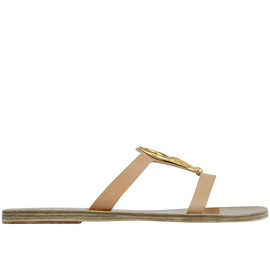 Ancient Greek Sandals with LALAoUNIS Knossos - Natural
