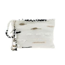 CLOTHO CLUTCH - WHITE