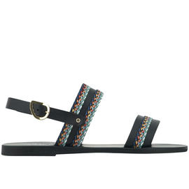Dinami Raffia - Black/Dark Multi Str