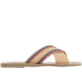 Thais Raffia - Natural/Multi Stripe