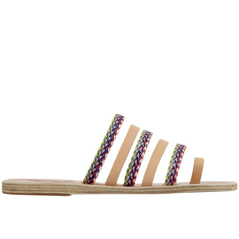 Niki Raffia - Natural/Multi Stripe