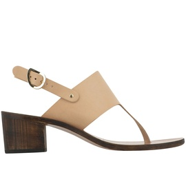 Nat / Chestnut Heel