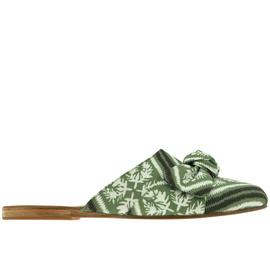 Pasoumi Bow - Bandana Green