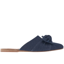 Pasoumi Bow - Dark Denim