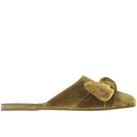 Pasoumi Bow - Velvet Mustard