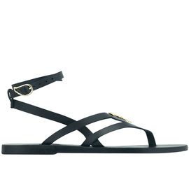 Ancient Greek Sandals with LALAoUNIS Aktea - Black
