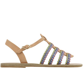 Korinna Raffia - Natural/Multi Stripe
