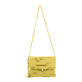 Atropos Cross Body - Yellow