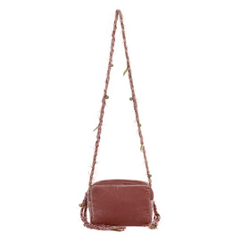 Lachesis Cross Body - Velvet Dusty Pink