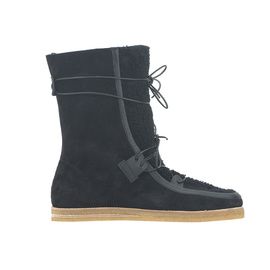 Dimitra Boots - CROSTA BLK/SHEEP BLK