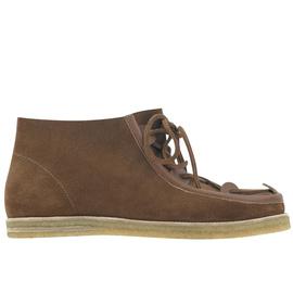 Hera Boots - Crosta Tobacco
