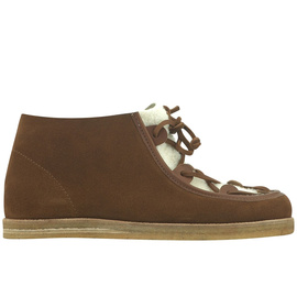 HERA BOOTS - TOBACCO/WHITE SHEEPSKIN