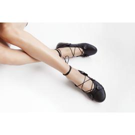 Ballerinas Alcyone - NAPPA BLACK/BLACK