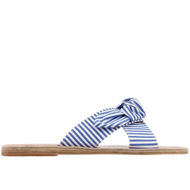 Thais Bow - Stripes Blue