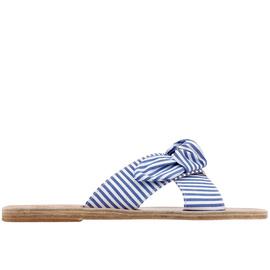 Thais Bow - Stripes Blue