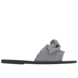 Taygete Bow - Gingham Black