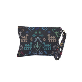 Abundance Clutch - Black Multi