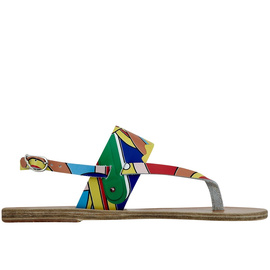Ancient Greek Sandals with Peter Pilotto Zoe - Print Colourful