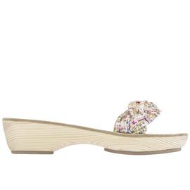 Garitsa Clog - Tweed White
