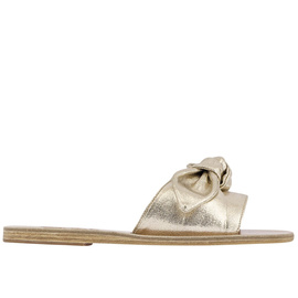 Taygete Bow - Canvas Lame Plat