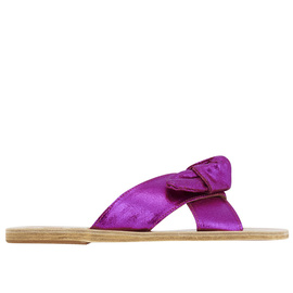 Thais Bow - Canvas Lame Fuchsia