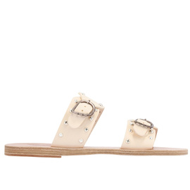 MESSINIA RIVETS - OFF WHITE