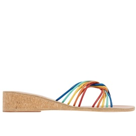 Xanthi Wedge - Multi Bright
