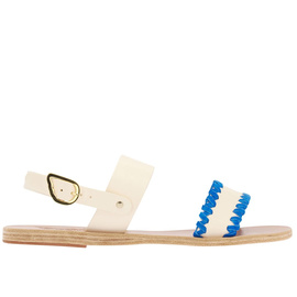 DINAMI ZIG ZAG - OFF WHITE/BLUE SUEDE