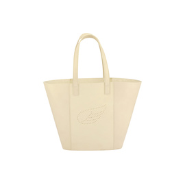 AGS WING TOTE MEDIUM - OFF WHITE