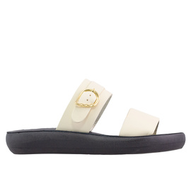 PREVEZA COMFORT - OFF WHITE/BLACK SOLE