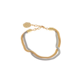 FISHCHALE DOUBLE CHAIN - GOLD/SILVER