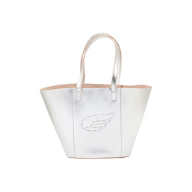 AGS WING TOTE MEDIUM - SILVER