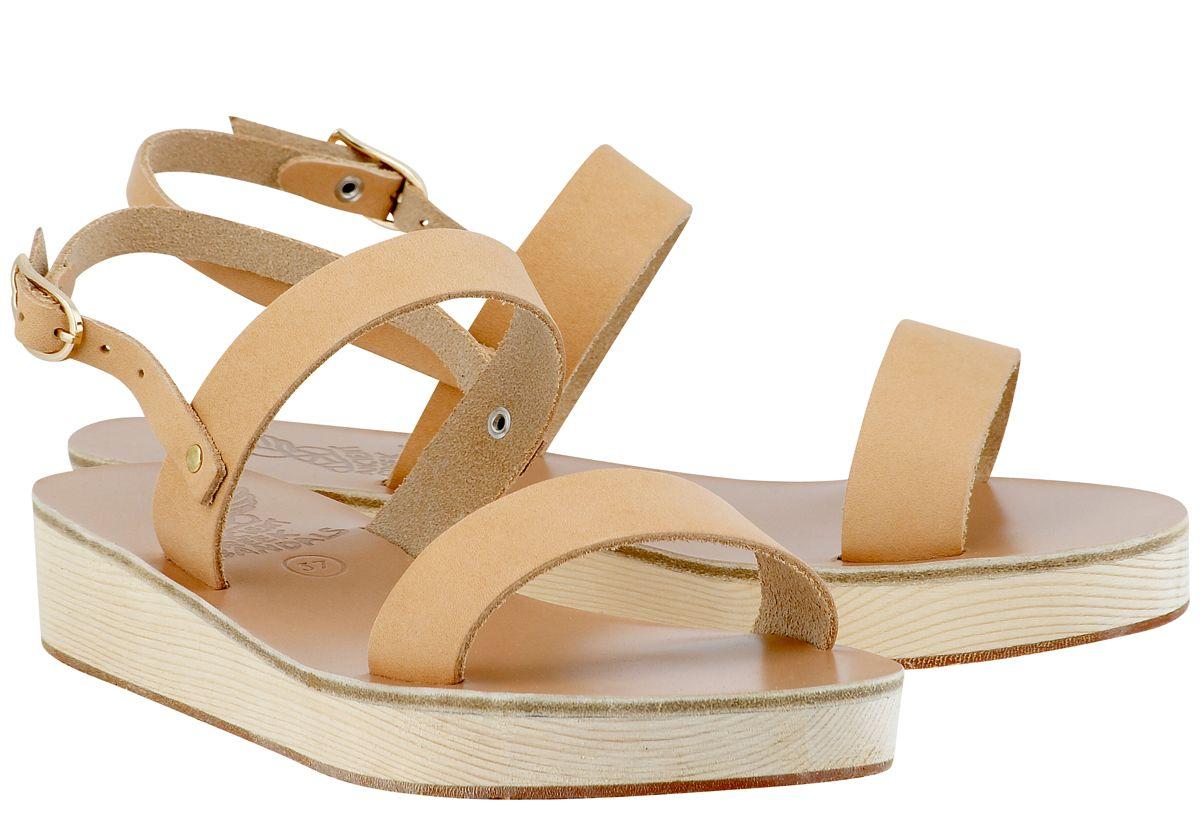 02863b16691 Clio Platform Sandals by Ancient-Greek-Sandals.com